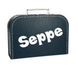 Koffertje met naam - jongen_