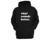 T-shirt - Vinyl sounds better_