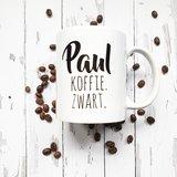 Beker Koffie - Naam & instructies_