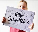 Mijn schoolfotoboek zwart wit A4_
