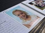 Mijn schoolfotoboek mint groen A4_