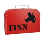 Koffertje met naam - Vliegtuig_