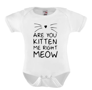 Romper - Are you kitten me right meow