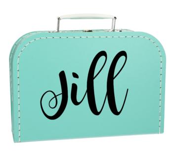 Koffertje met naam - meisje