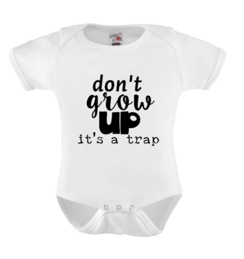 Romper - don't grow up it's a trap