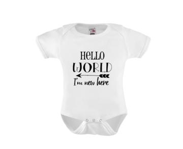 Romper - Hello World I'm new here