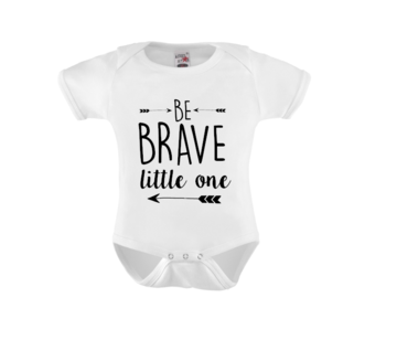 Romper - Be brave little one