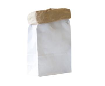 Paperbag XS - Blanco