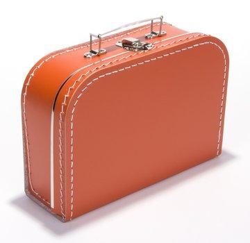 Koffertje 25 cm Oranje