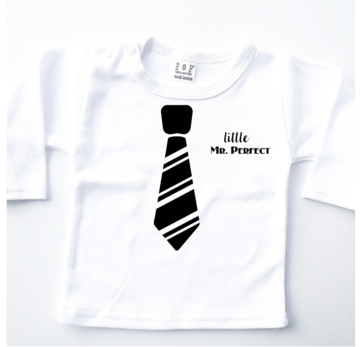 Longsleeve baby - Little Mr. Perfect