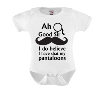 Romper - Ah Good Sir I do believe I have shat my pantaloons