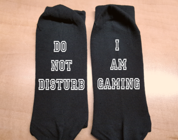 Sokken - Do not Disturb | I am gaming