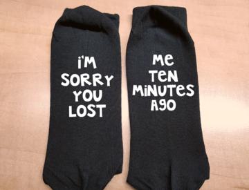 Sokken - I'm sorry you lost | me ten minutes ago