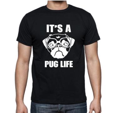 T-shirt - It's a pug life