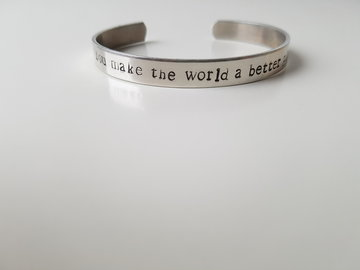 Armband - You make the world a better place!