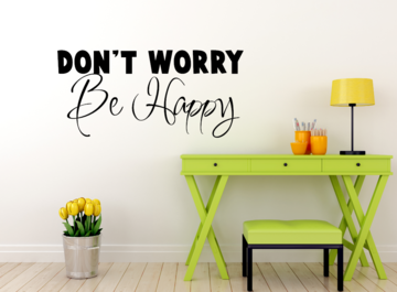 Sticker - Don't Worry Be Happy