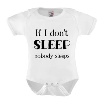 Romper - If I don't sleep nobody sleeps