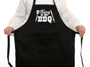 Schort - King of the BBQ