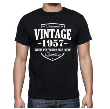 T-shirt - Original Vintage met eigen gekozen jaartal