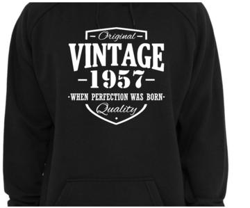 Hoodie - Original Vintage met eigen gekozen jaartal