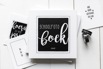 Schoolfotoboek hard cover