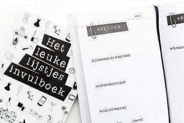 Leuke lijstjes invulboek