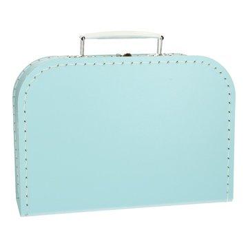 Koffertje 25 cm Lichtblauw