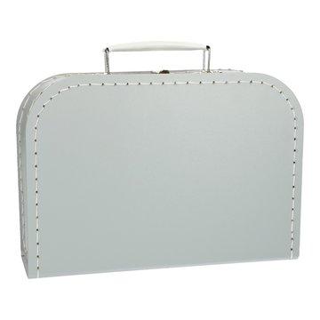 Koffertje 25 cm Grijs