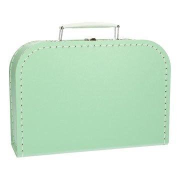 Koffertje 25 cm Mintgroen