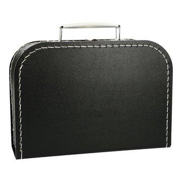 Koffertje 25 cm Zwart