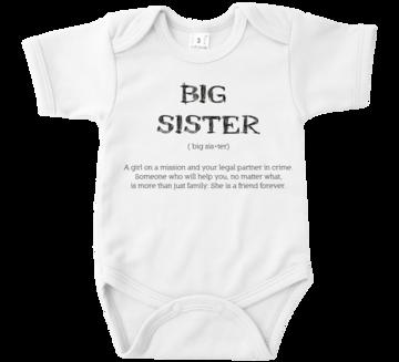 Romper - Big Sister