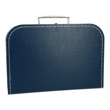 Koffertje 30 cm donkerblauw
