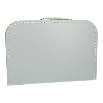 Koffertje 30 cm grijs