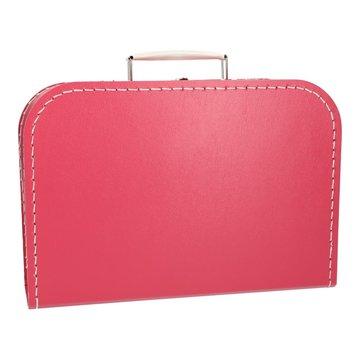 Koffertje 30 cm hardroze