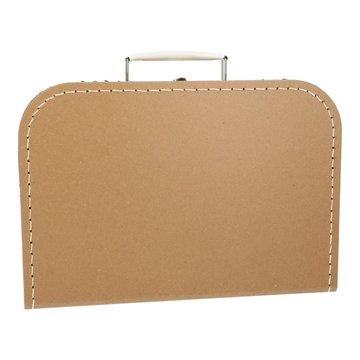 Koffertje 30 cm kraft
