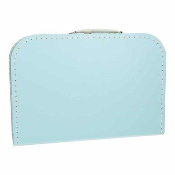 Koffertje 30 cm lichtblauw