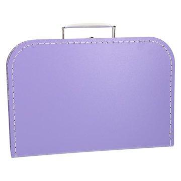 Koffertje 30 cm lila
