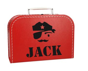 Koffertje met naam - Piraat
