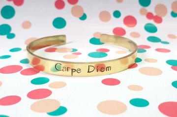 Armband - Carpe Diem