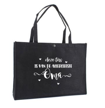 Tas - Vilt - deze tas is van de allerliefste oma