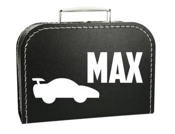Koffertje met naam - Raceauto