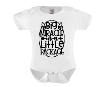 Romper - Big miracle in a little package