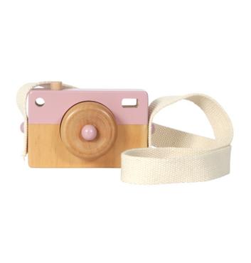 Camera hout - roze - Little Dutch