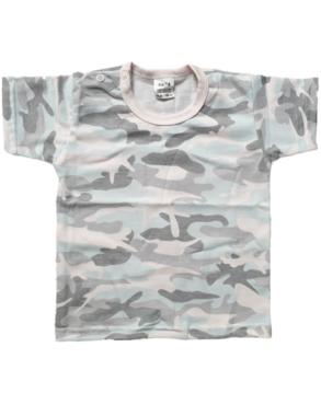 Shirt Korte Mouw - Army Pink