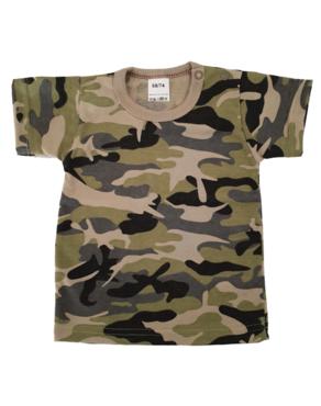 Shirt Korte Mouw - Army Groen