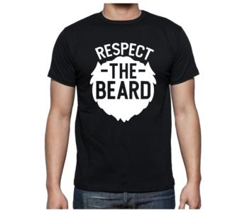 T-shirt - Respect the beard