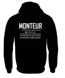 Hoodie - Monteur