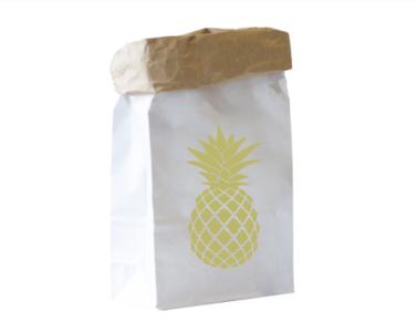 Paperbag XS - Ananas