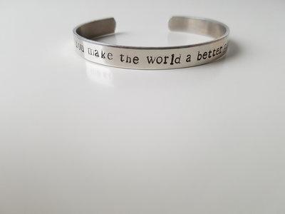 Armband - You make the world a better place!