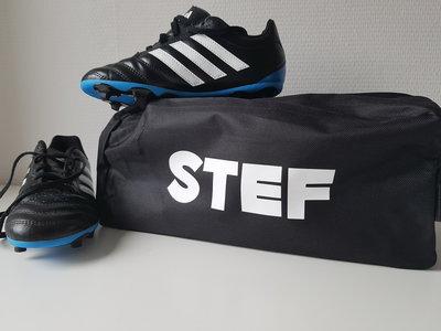 Tas voor voetbalschoenen met naam